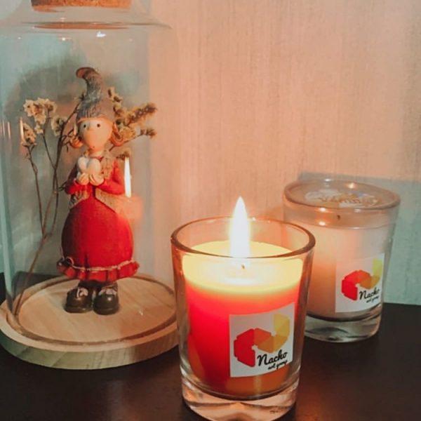 شمع معطر توت فرنگی