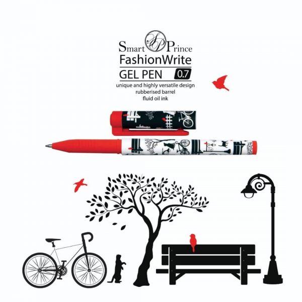 روان نویس ژله ای طرح دوچرخه وحیوانات پارک