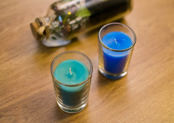 شمع عطری
