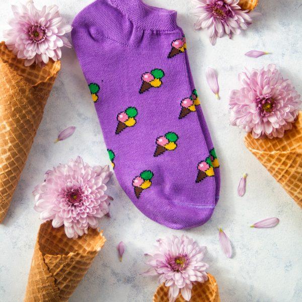 جوراب مچی بستنی قیفی