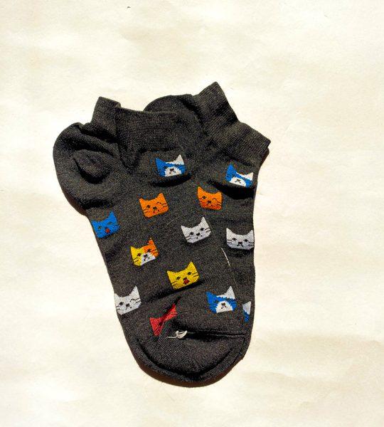 جوراب مچی فانتزی گربه