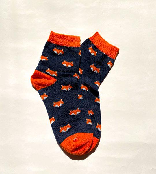 جوراب ساقدار روباه لاجوردی