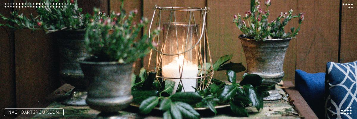 رابطه شمع ها و عناصر چهارگانه