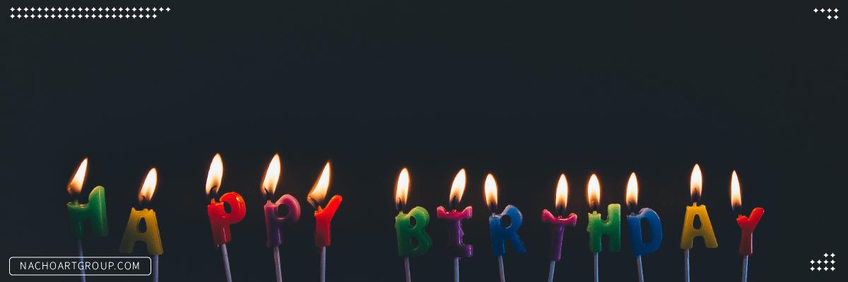 فلسفه روشن کردن شمع تولد