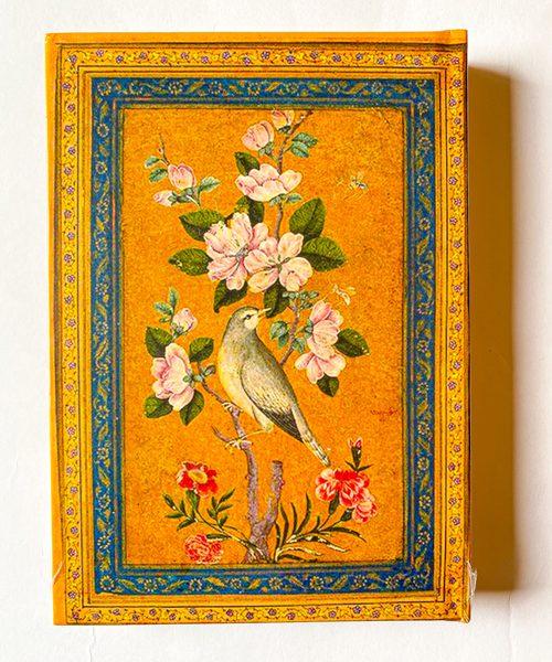دفتر پالتویی خطدار پرنده سنتی