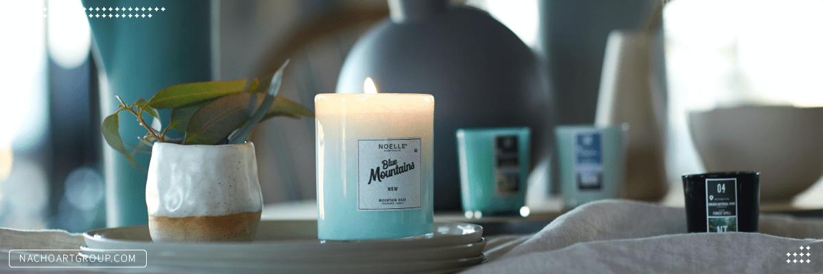 مواد لازم برای ساخت شمع معطر