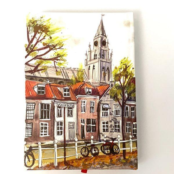 دفتر پالتویی خط دار آمستردام
