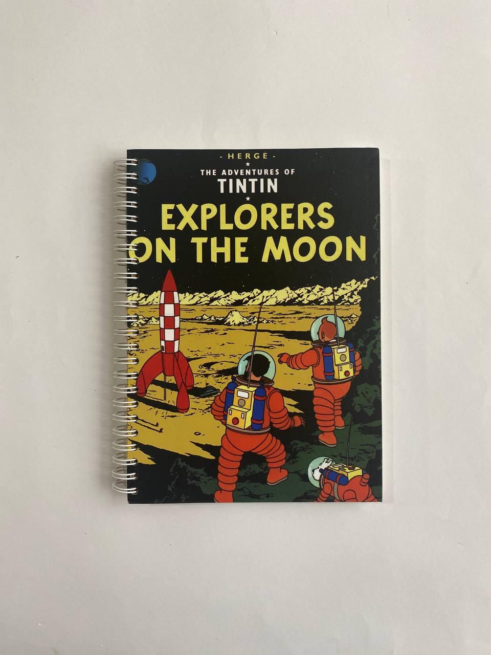 دفتر بولت ژورنال فانتزی تن تن سفر به ماه