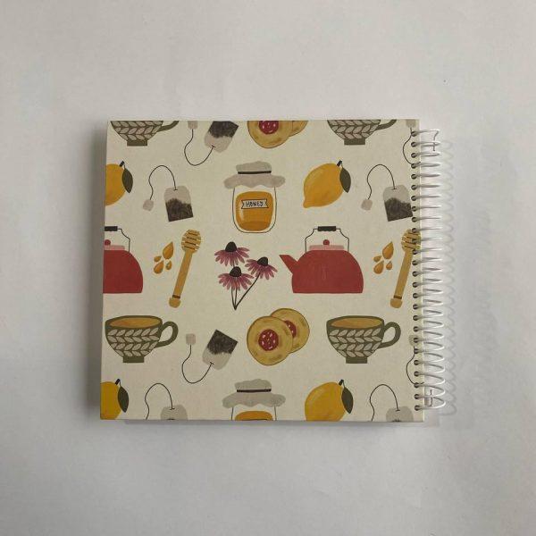 دفتر نقطه دار عسل