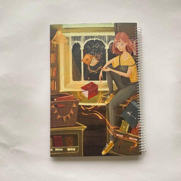 دفتر بی خط A4 کتاب فروشی