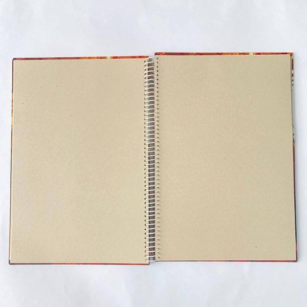 دفتر بی خط A4 روباه درامر صفحات
