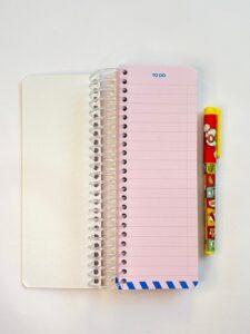 دفترچه لیست کارها